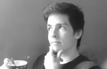 Flink Portrait Schwarz Weiß