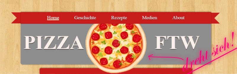 [Projekt] Uniprojekt – Huldigt die Pizza!