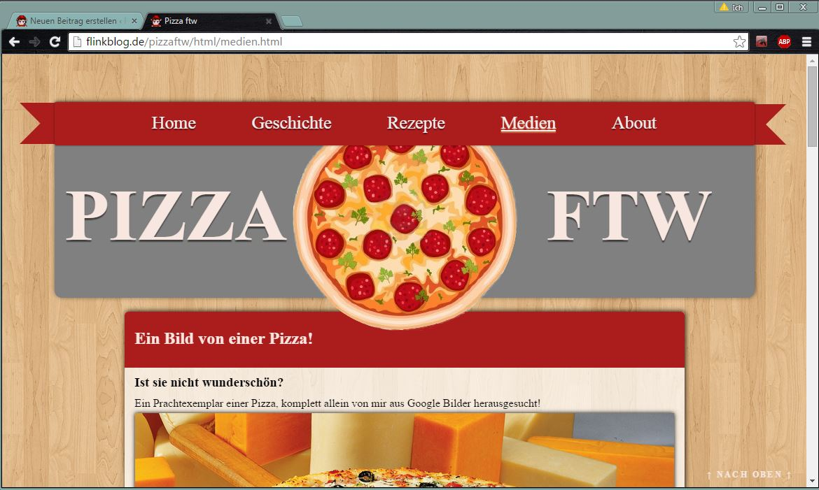 Pizza FTW