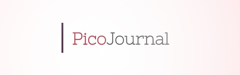 PicoJournal – Web Design