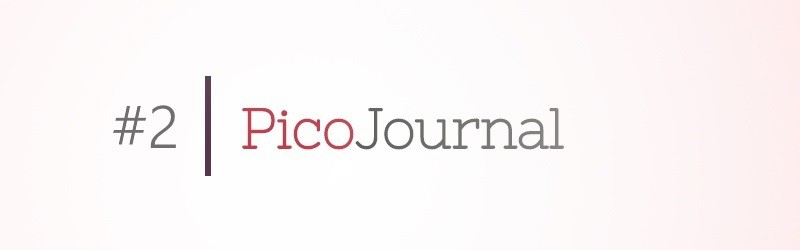 Pico Journal – Web Design Update