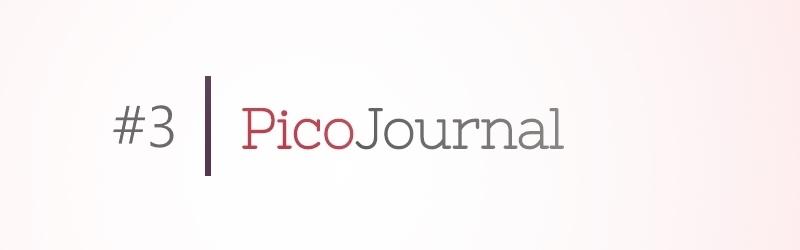 Picojournal – Responsivität eingebaut
