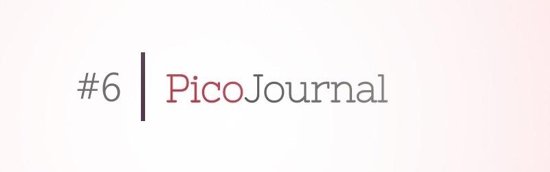 PicoJournal – Genug vom Design