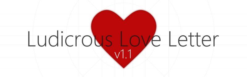 Ludicrous Love Letter mit Bugfixes, Browserversion und Kissenschlachten